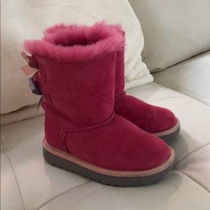 UGG Toddler Girl Pink Size 8